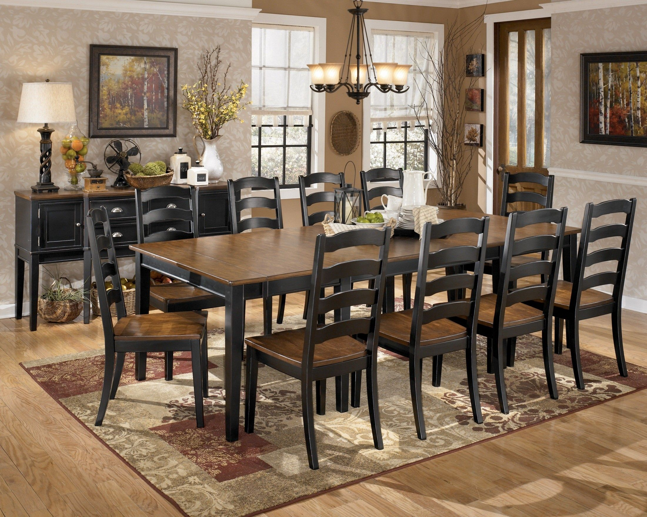 Dining Room Extension Table Owingsville Extension Table Set  Home  Pinterest  Extensions