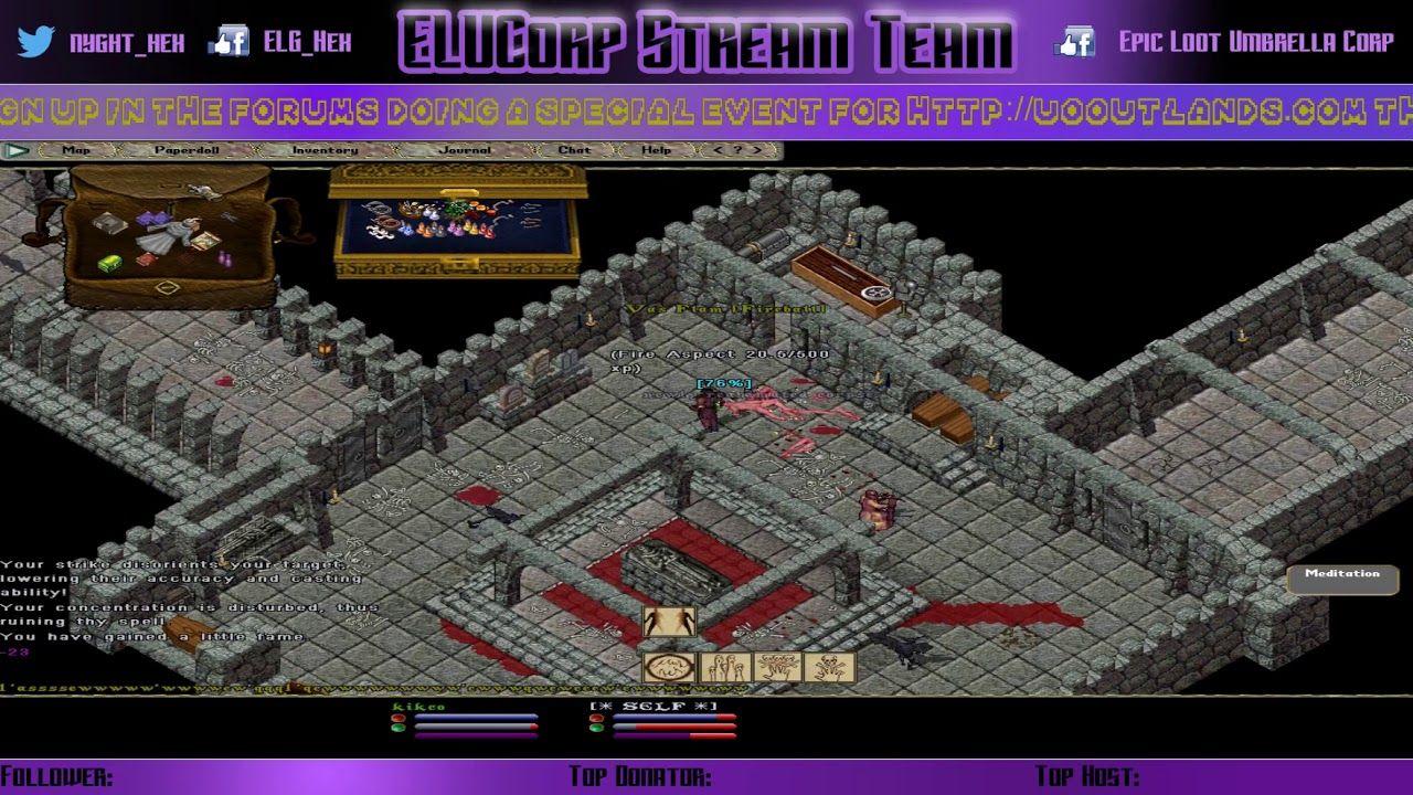 UO Outlands - [Beta Testing] Dungeon Run - The Mausoleum Ep 1