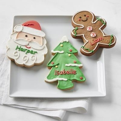 williams sonoma williams sonoma holiday cookies set of 3