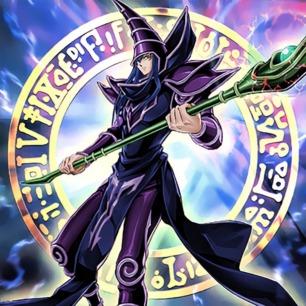 Dark Magician 20th Anniversary Artwork By Omgitsjohannes On Deviantart Yugioh Monsters The Magicians Anime Toon