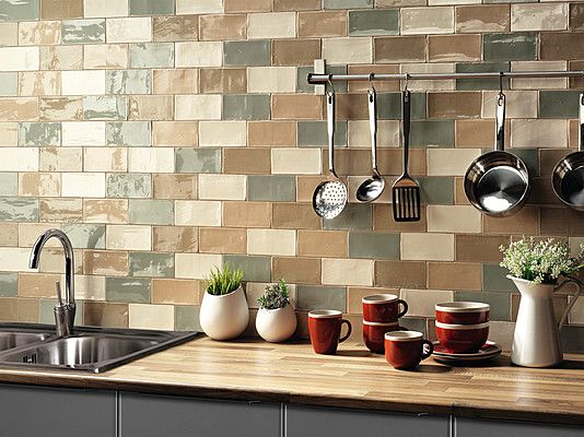 Natucer Cotswold Cotswold-Natucer-1 , Küche, Badezimmer, Ziegeloptik - fliesen tapete küche
