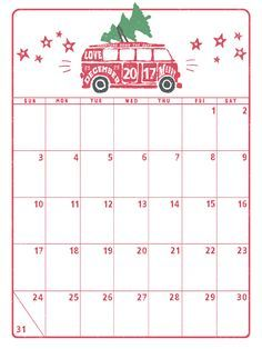 December Calendars December Calendar Printable December
