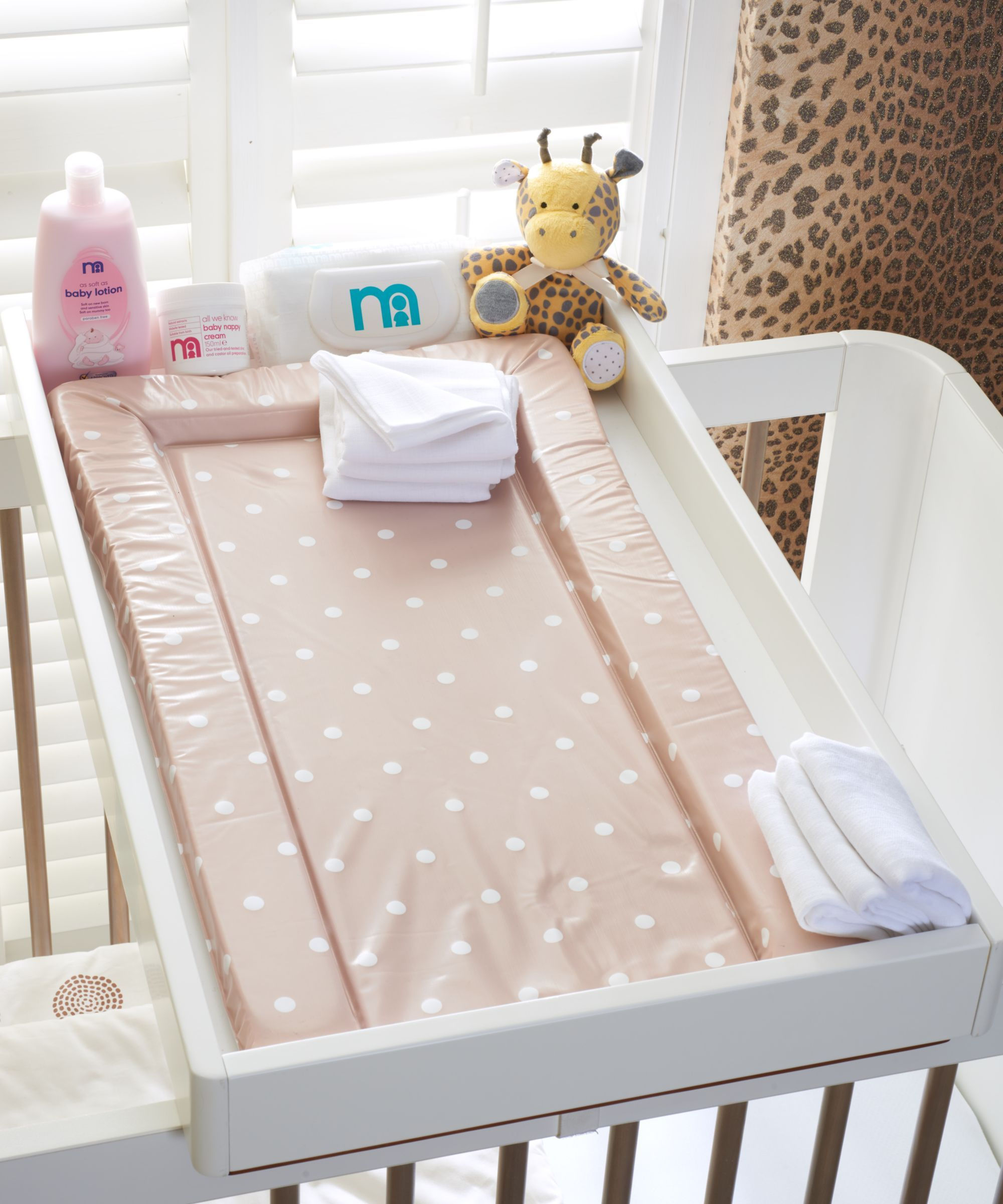 Mothercare Solna Cot Top Changer Baby