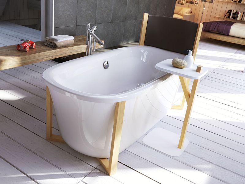Glass Bagno ~ Vasca da bagno centro stanza ovale malmÖ glass idromassaggio