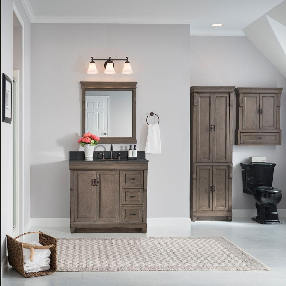 Home Decorators Collection Naples 36 in. W Vanity Cabinet Only in ...