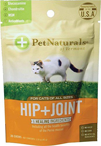 Cat Naturals Of Vt Hip Joint Supplements For Cats Remarkable
