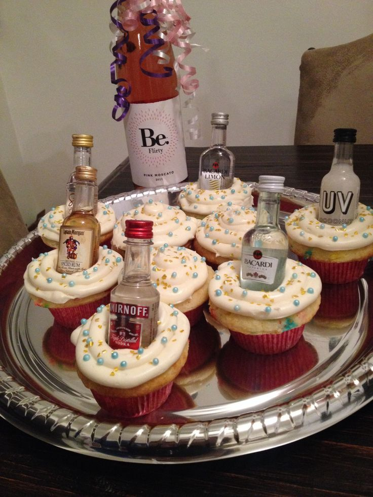 Liquor Bottle Cake Decorations Delectable 21St Birthday  Cupcakes  Pinterest  21St Birthday And Man Cupcakes Design Decoration