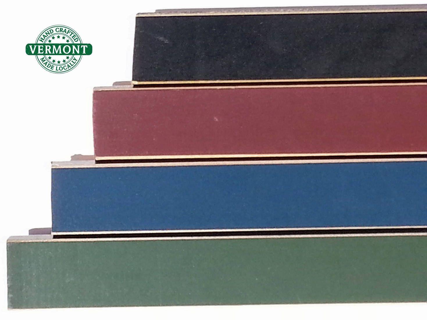 Rustic Wood Picture Frames, 4 Colors - Hunter Green, Newburyport ...