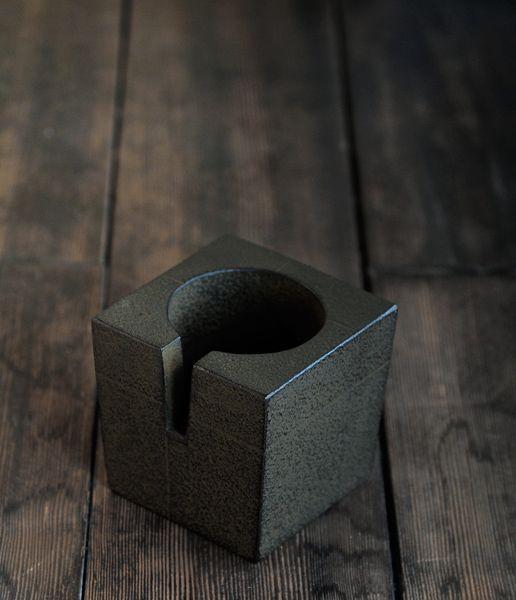 A Housewares Candle Wood Cutout Shape