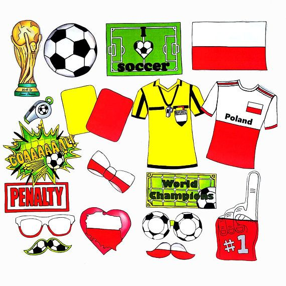9d0b22d8c83 World Cup POLAND soccer photo booth props - the ultimate fan accessory -  2018 FIFA Soccer Championship in Russia - support Polska