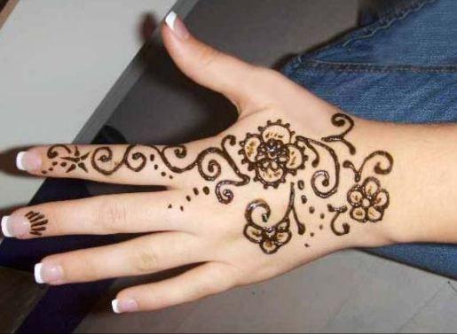 Simple Mehndi Tattoo Hands : Henna designs tattoo simple beautiful