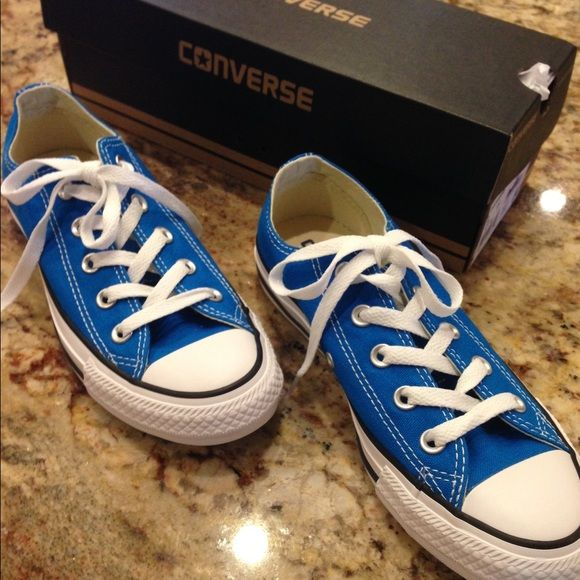 Converse BNIB Brand new converse. Cyan Space Blue. trades ❤ bundle discount  only Converse Shoes Sneakers 981857781