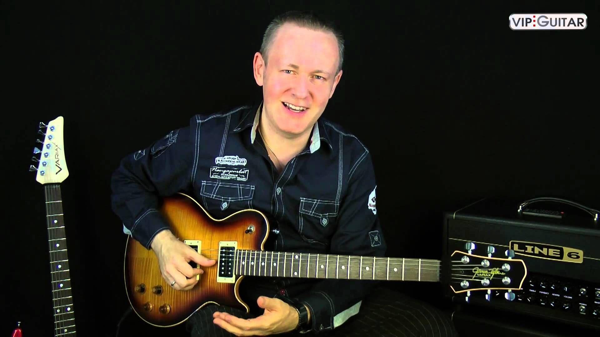 Speed und Ausdauertraining für E-Gitarre Video Nr.1: Einzelfingertrills ...