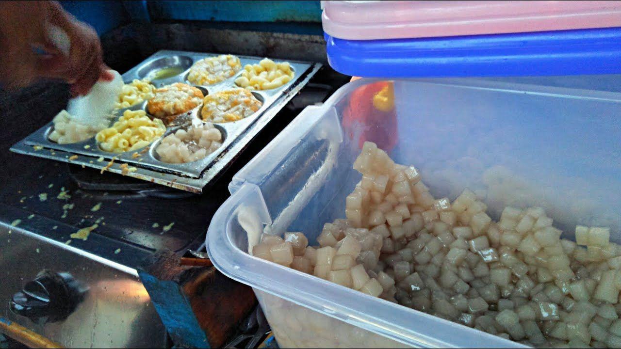 Indonesian Street Food Unique Cilor Shake Egg Macaroni Makanan Jalanan Makanan