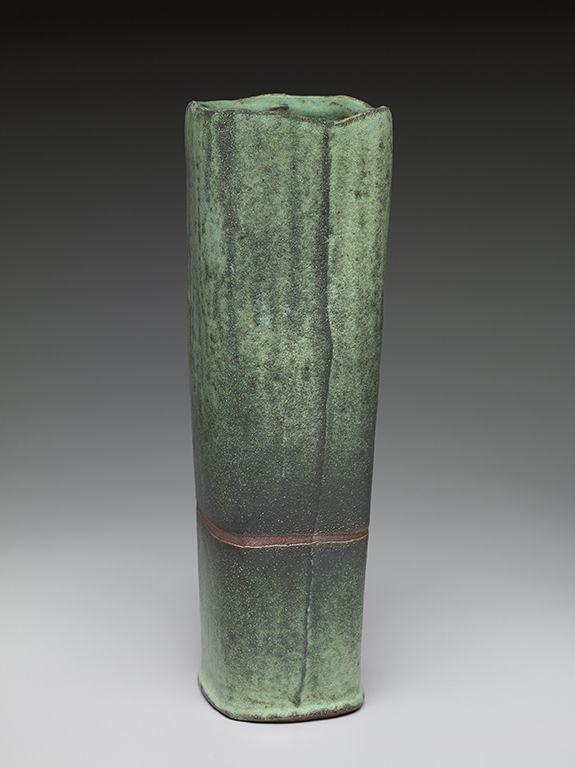 Randy Johnston, Square vase