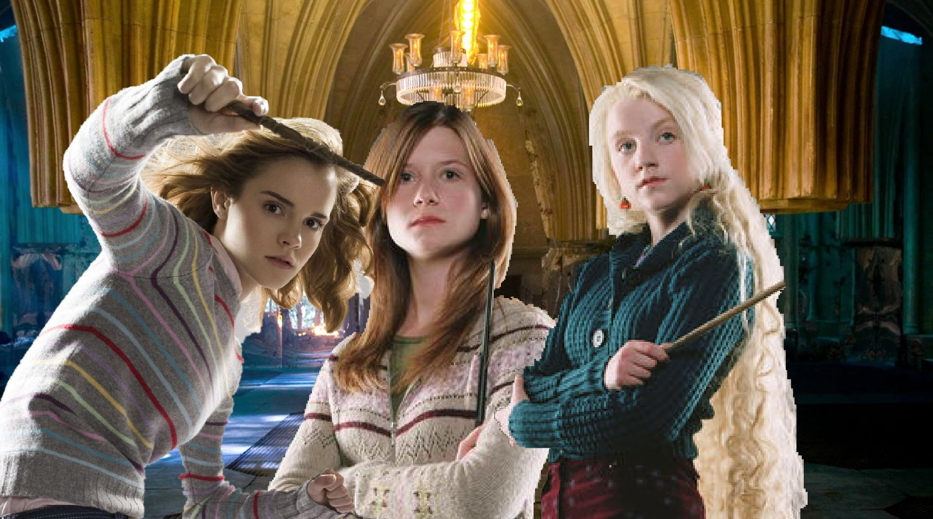 Pin di Malfoynelly su Hermione Granger, Ginny Weasley, & Luna Lovegood | Hermione, Attrici