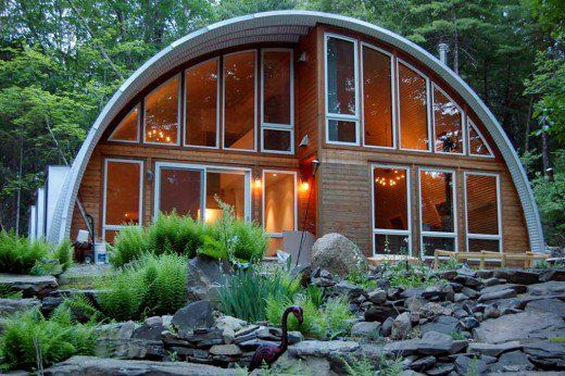 The Modern Quonset Hut Homes Quonset Homes Quonset Hut Homes