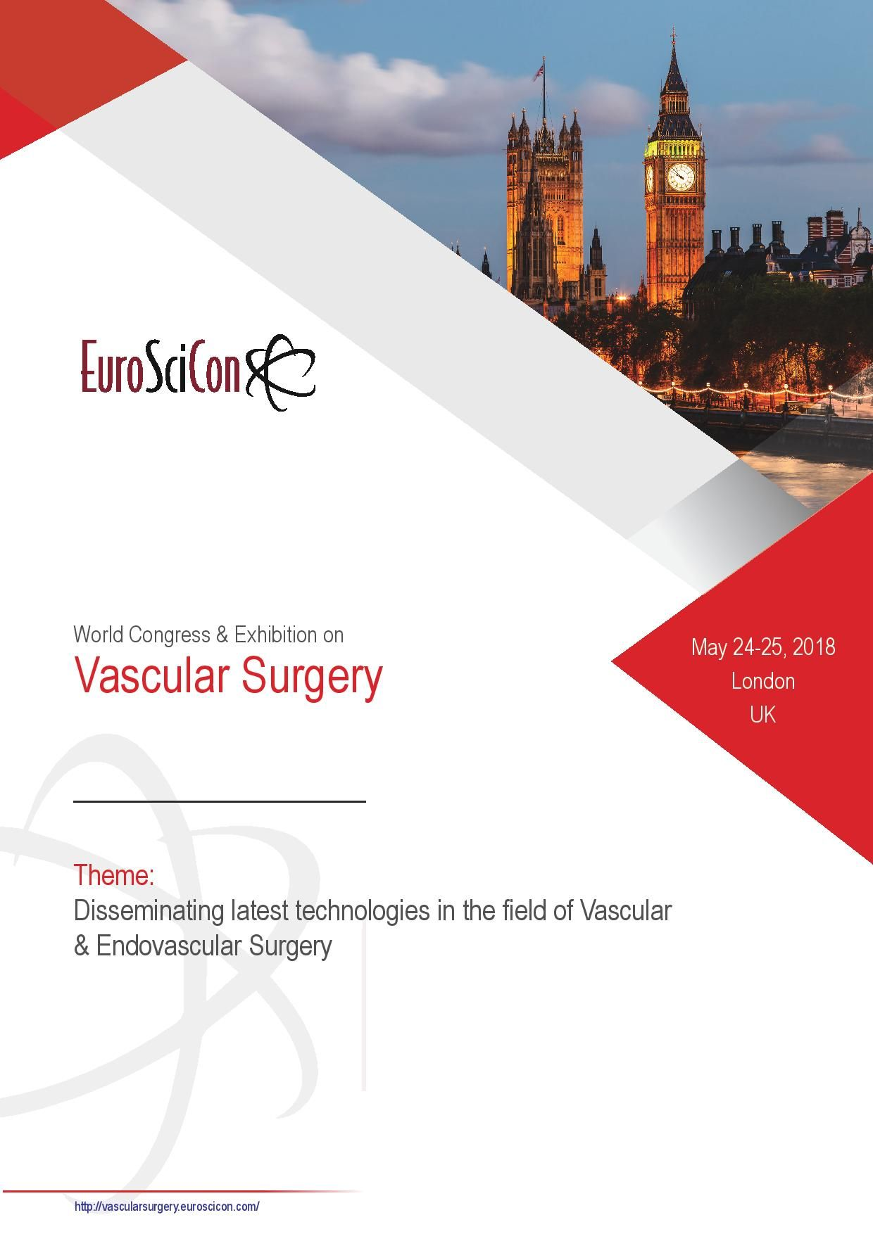 3rd Edition Of World Congress Amp Exhibition On Vascular