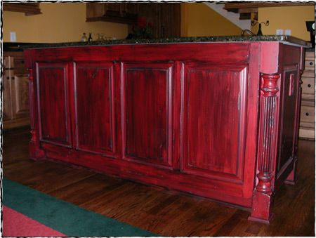 Nice Red Distressed Furniture   Group Picture, Image By Tag .