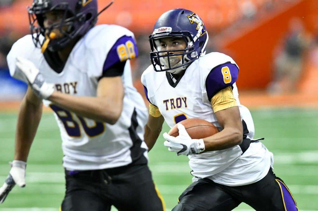 Troy High Captures State Football Championship Football Troy