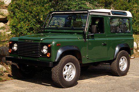 Galway Green Land Rover Defender 90 1995 Land Rover Defender