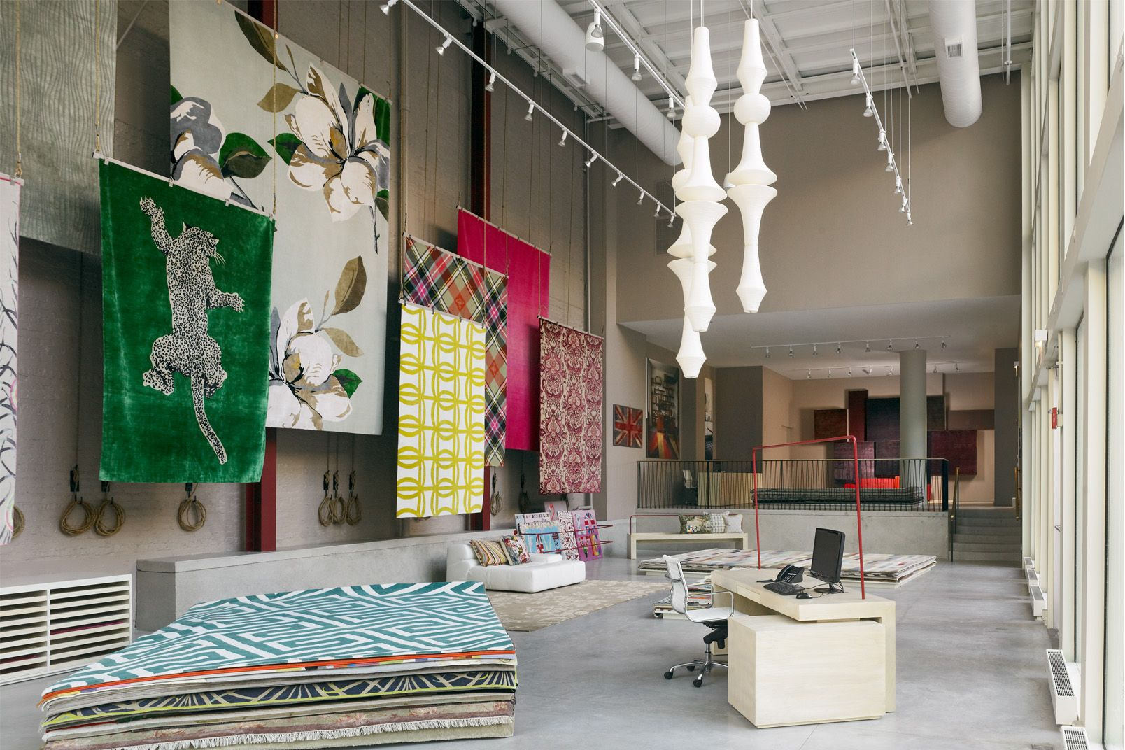 Showrooms the rug company rug display in 2019 rug - Interior design companies chicago ...