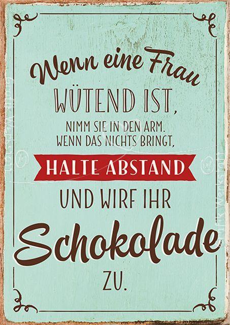 Wenn eine frau w tend ist postkarten grafik werkstatt bielefeld spr che pinterest - Lustig auf englisch ...