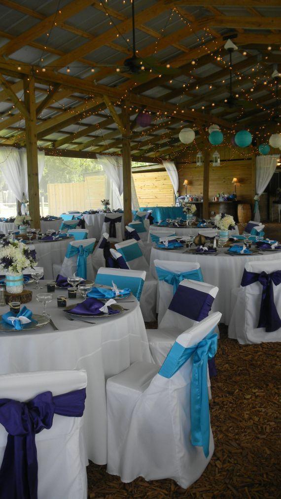turquoise wedding decor turquoise wedding decoration