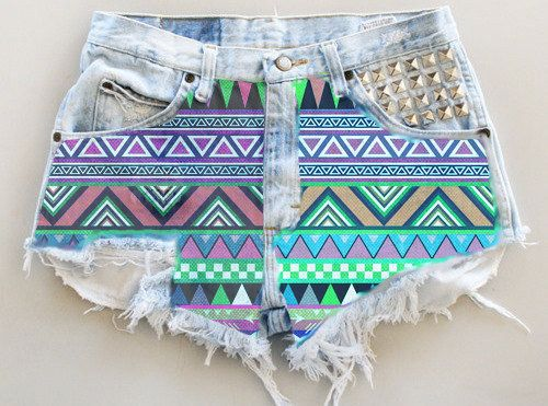 17 Best images about Diy shorts on Pinterest | Ombre, High waisted ...