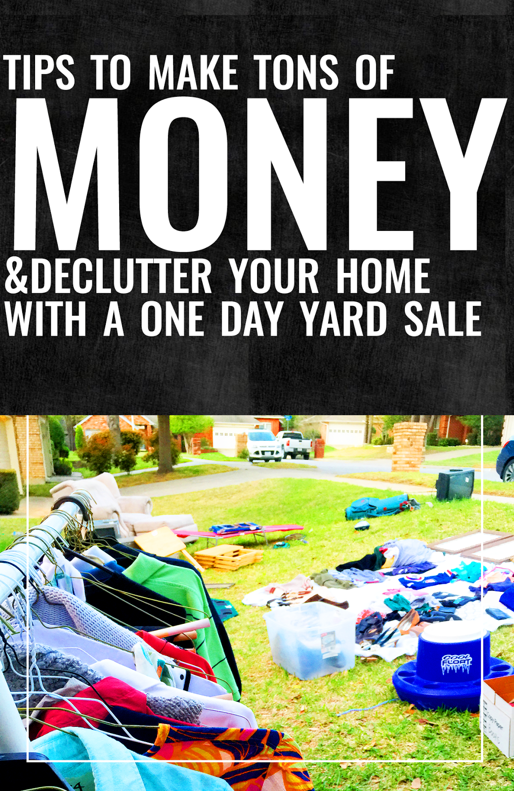 How To Have A Successful Yard Sale Yard Sale Garage Sale Tips Garage Sale Pricing