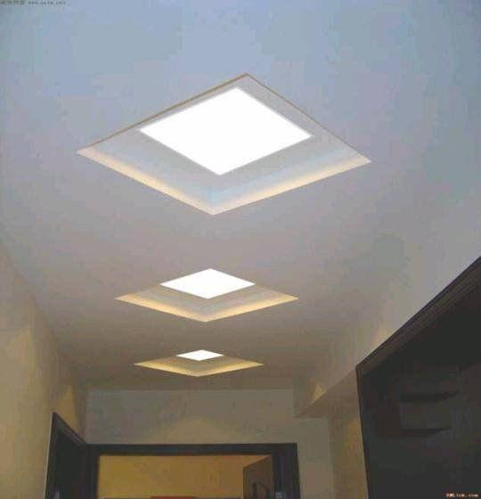 Recessed Led Panel Light Interior Ceiling Design Led Panel Light Ceiling Design Modern
