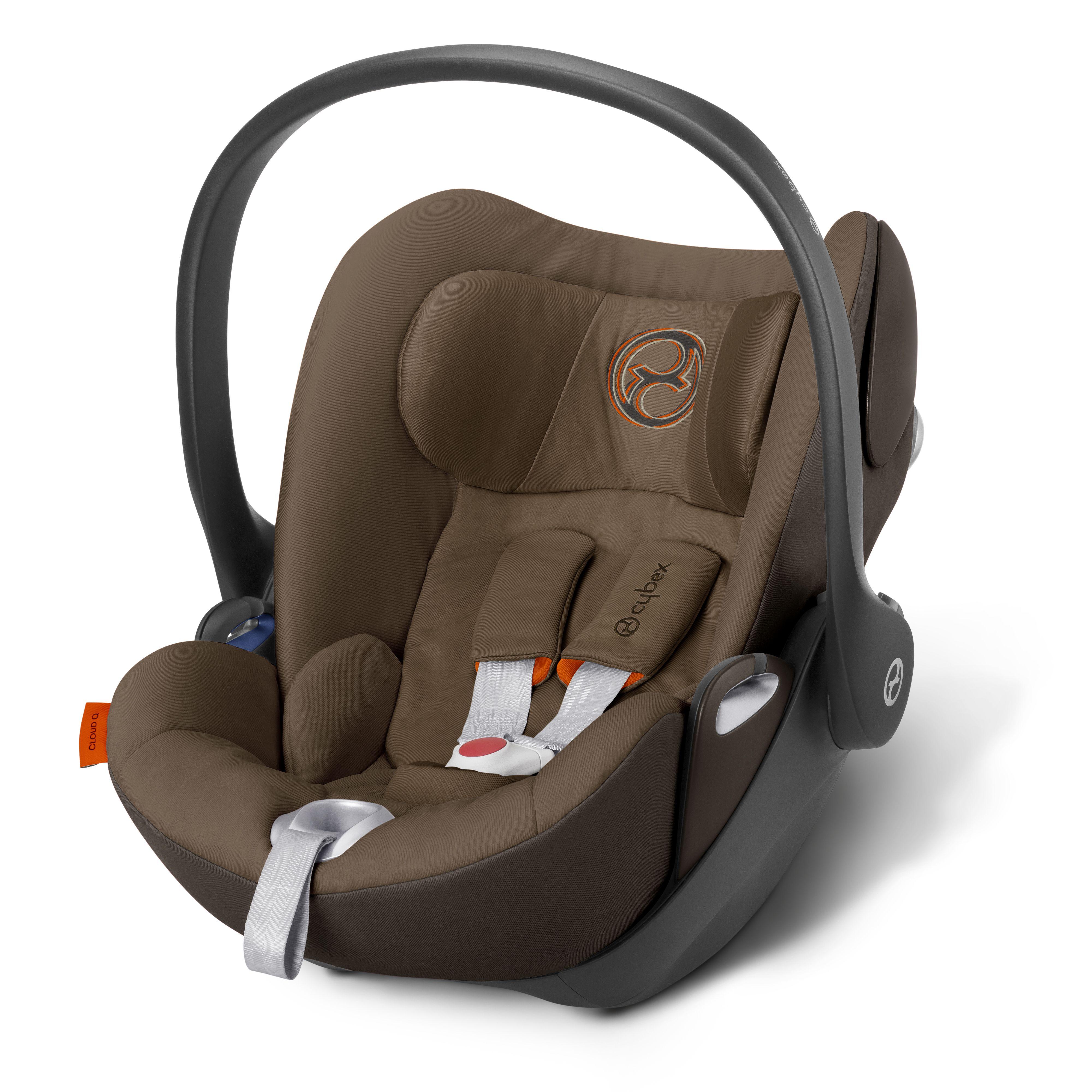 """CYBEX Cloud Q """"Coffee Bean"""" Baby car seats, Car seats, Car"""