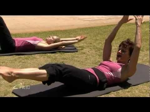 pilates flat abs video 2 fitness  pilates abs excercise