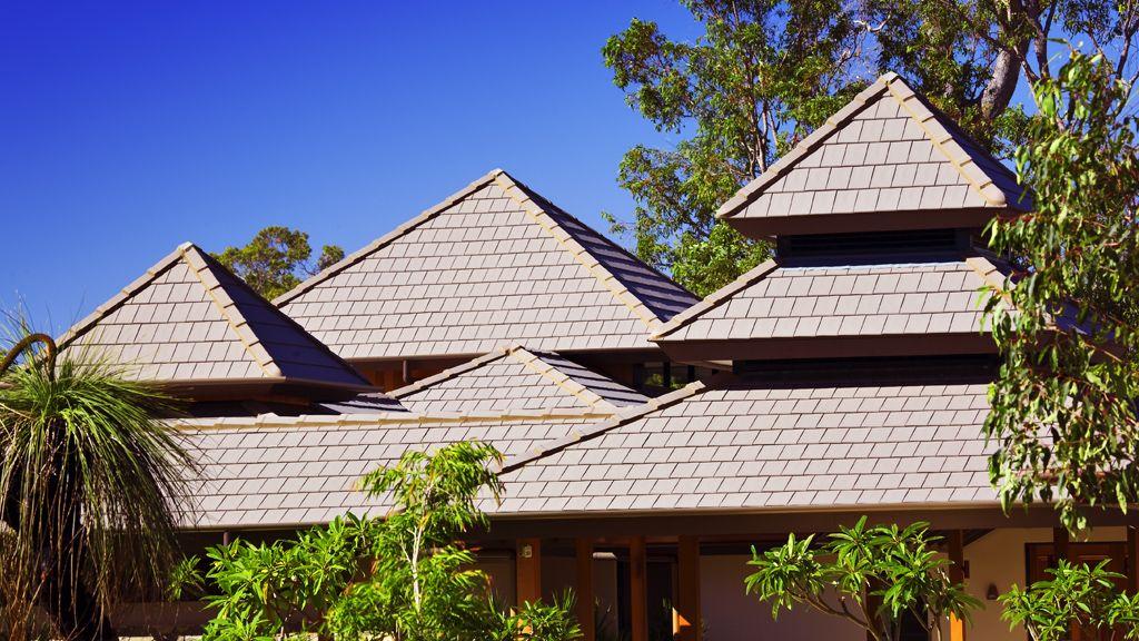 Monier Nullarbor House Terracotta roof, Terracotta roof