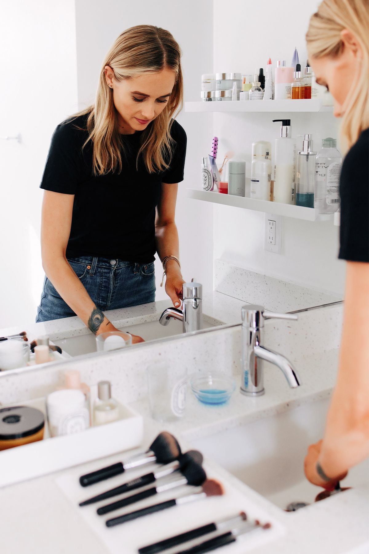 The Fast & Easy Way to Clean Your Makeup Brushes (and How