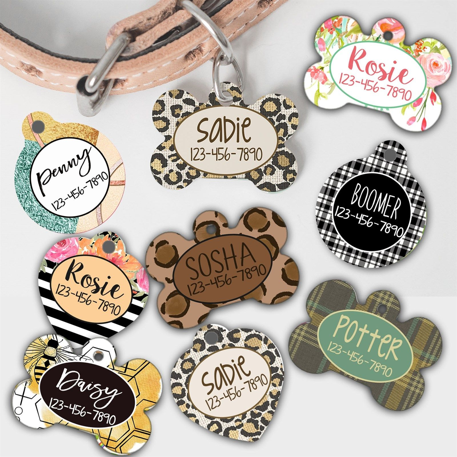 Personalized Double Sided Pet Tags In 2020 Christmas Gifts For