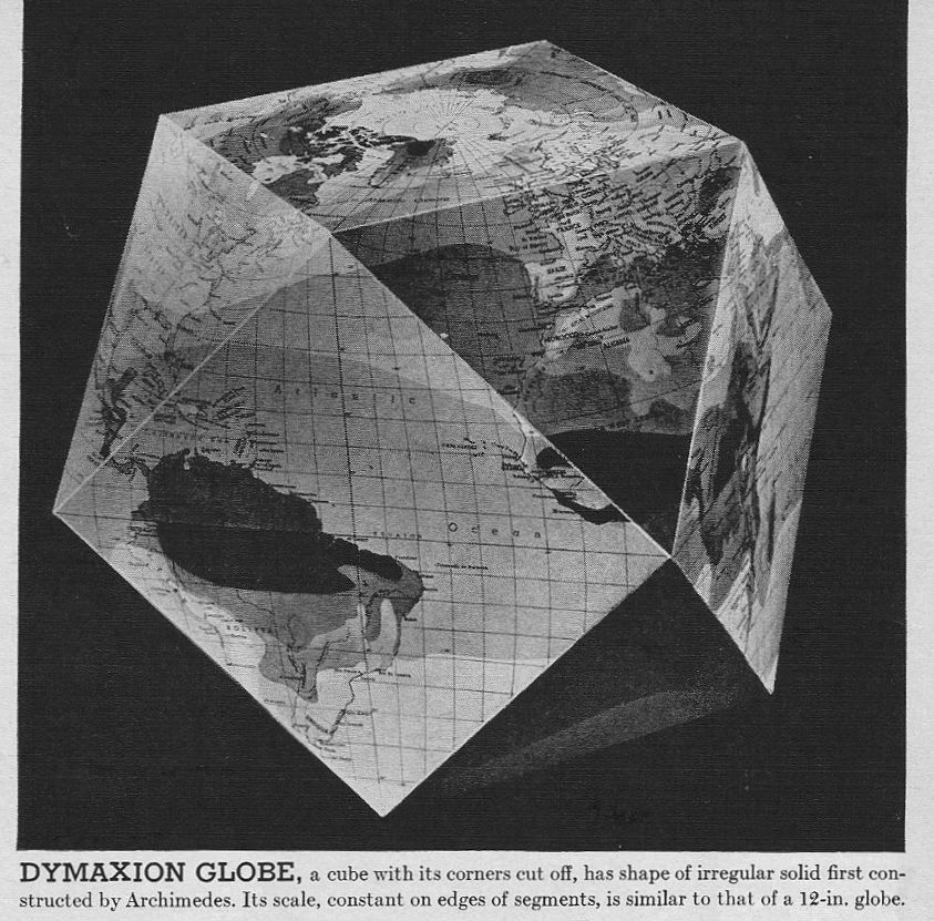 Buckminster fuller cubo octahedron dymaxion map global pinterest buckminster fuller cubo octahedron dymaxion map gumiabroncs Images