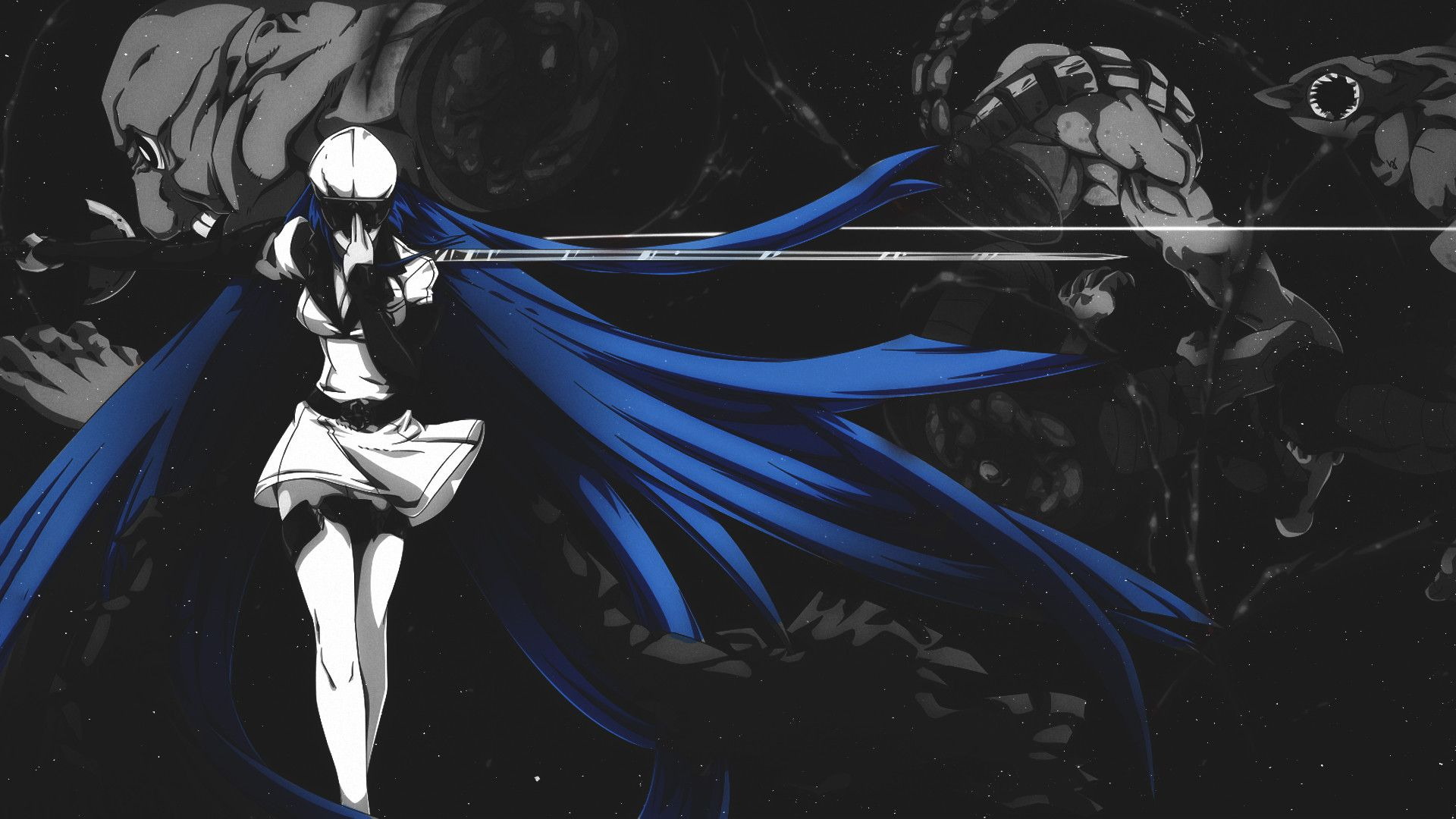 Anime Akame Ga Kill Esdeath Wallpaper Akame Ga Kill