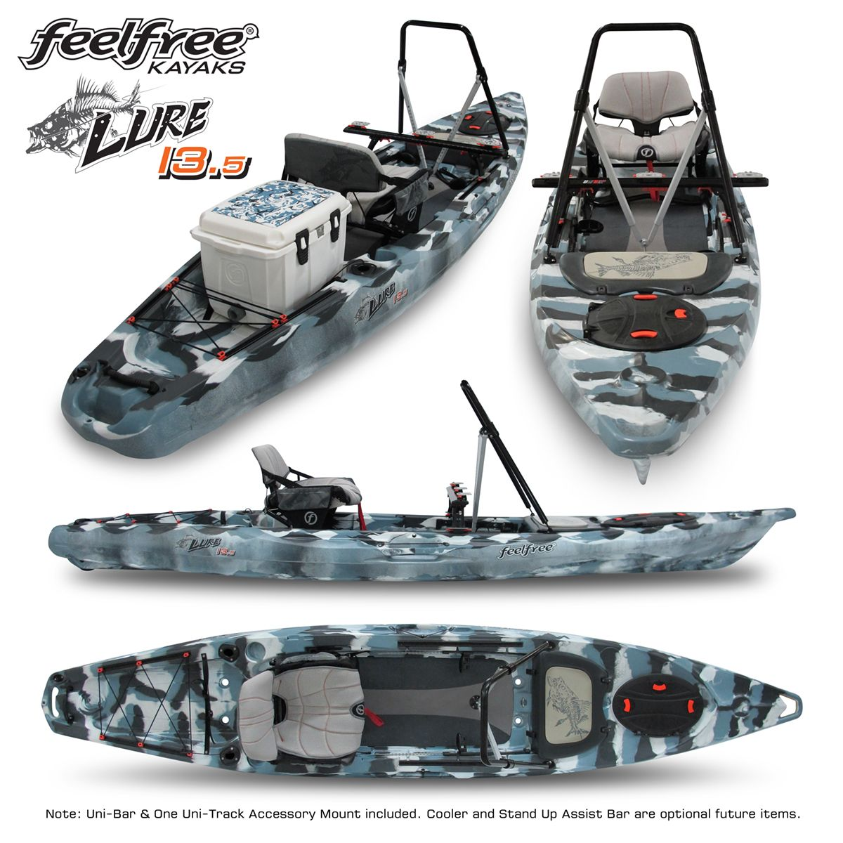 Feelfree lure 13 5 compiled fishing yak pinterest for Bass pro fishing kayak