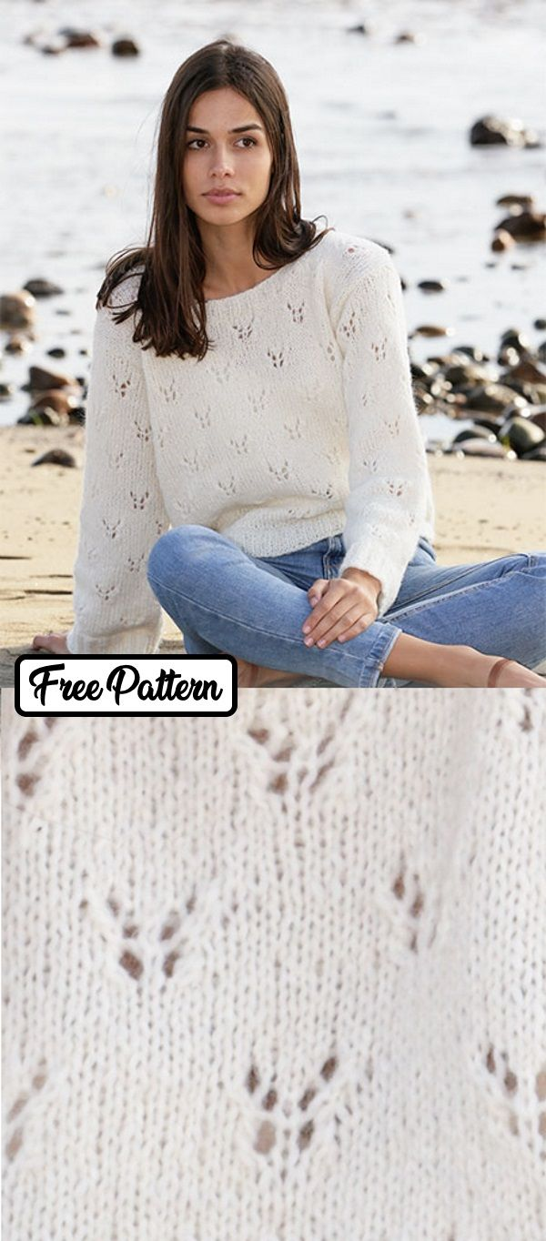 50+ Free Sweater Knitting Patterns for Women