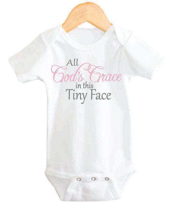4c72f8f55 Christian Baby Onesie Baby Girl Onesie God by littleadamandeve ...