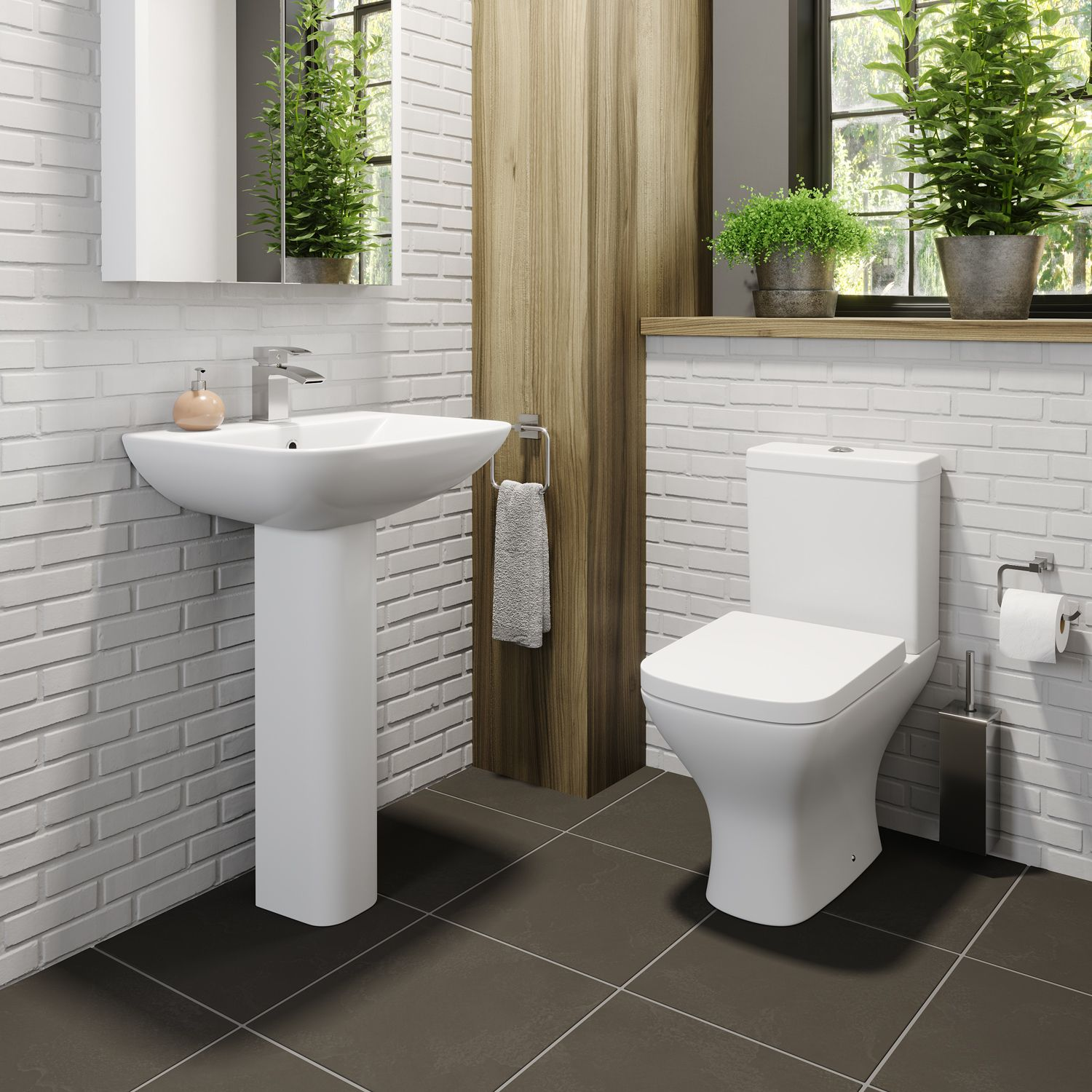 Marseille Cloakroom Suite Cloakroom Suites Space Saving Toilet Cloakroom