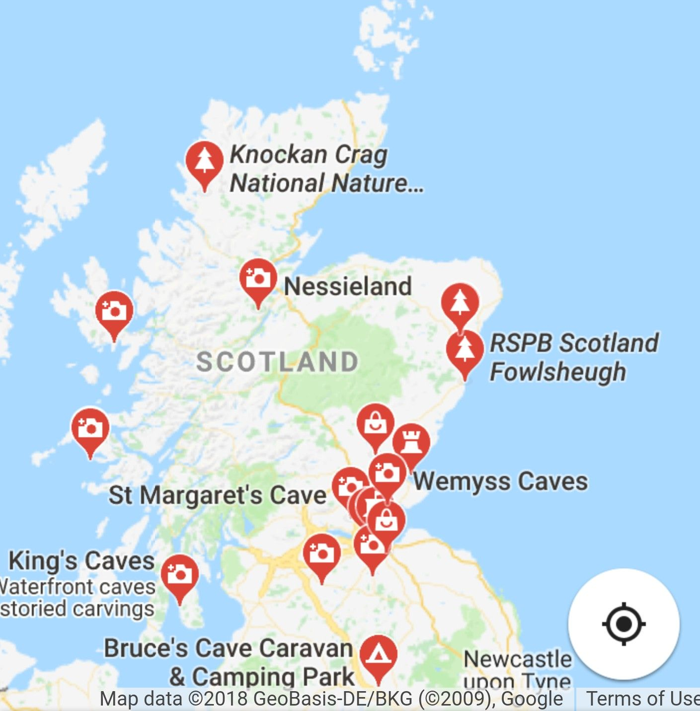 Cave & tourist sites in Scotland. Google Maps. Fingal\'s Cave. Smoo ...