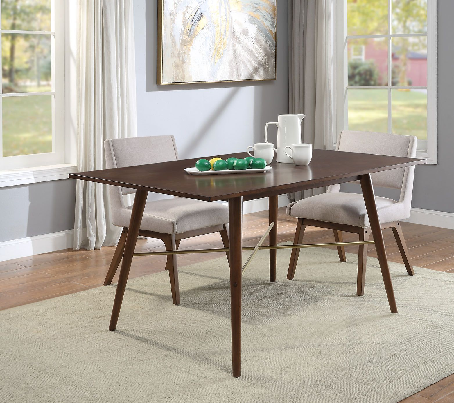 Better Homes Gardens Elizabeth Dining Table Walmart Com