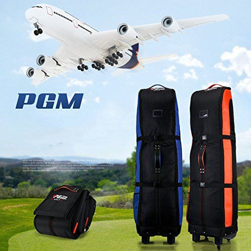 Uk Golf Gear Pgm Travel Bag Cover Wheeled Double Deck