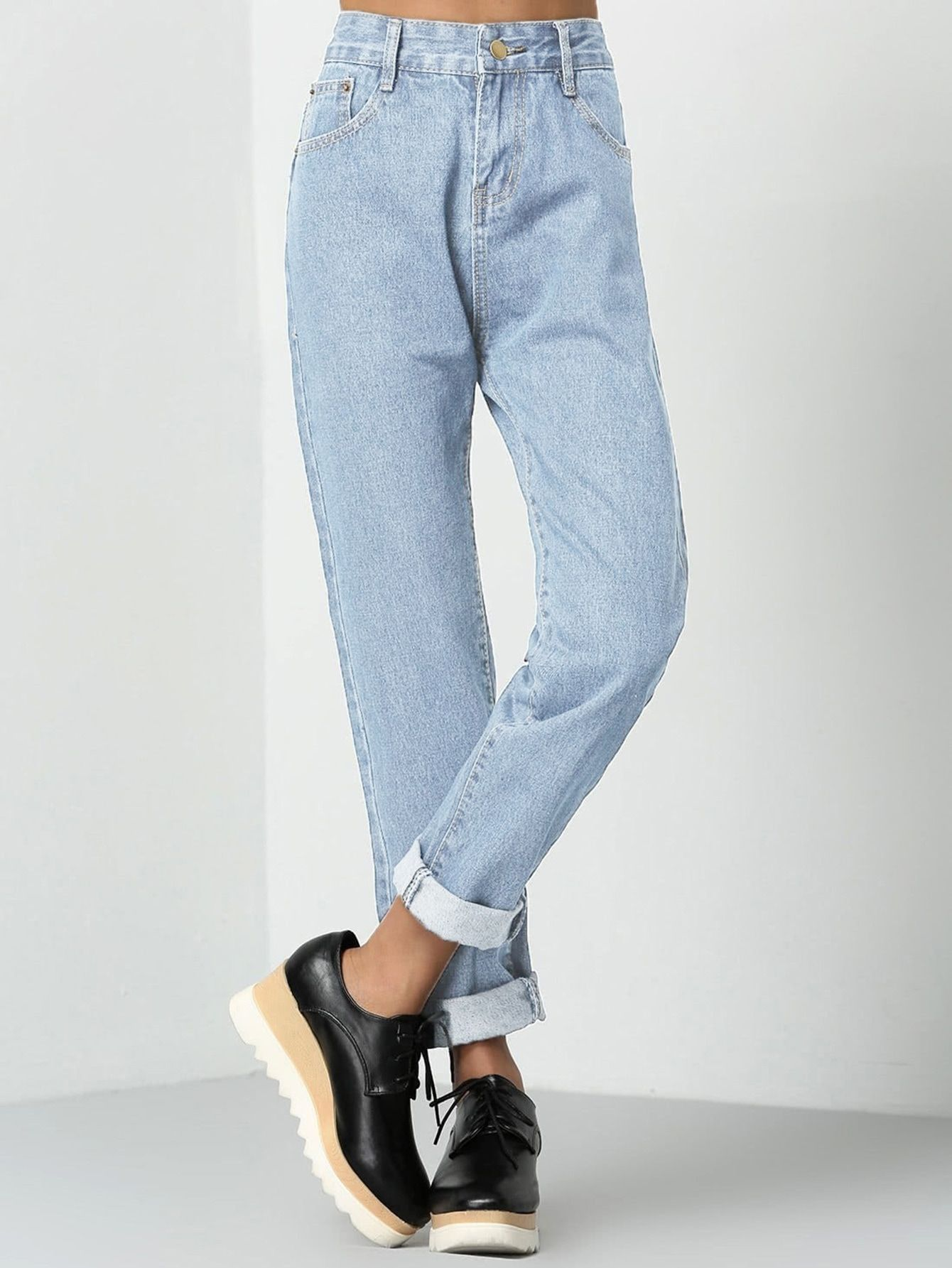 Photo of Buy Rolled Up Mom Jeans in the online store – BigShopStyle