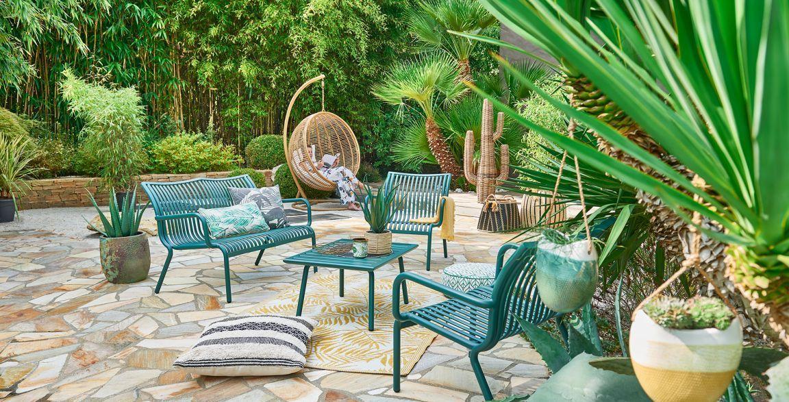10 Salon De Jardin Jardiland 2017 Mobilier Jardin Boheme Recup En 2020 Salon De Jardin Jardiland Mobilier Jardin Jardins