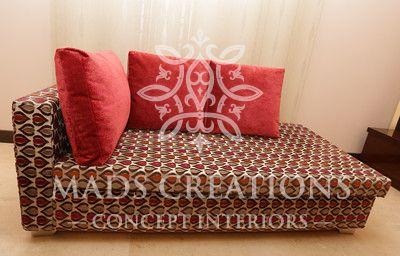 Bespoke furniture design. Sofa