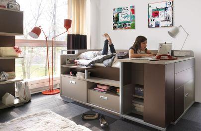 lit enfant design modulable avec rangement meubles gautier - Lit Gautier