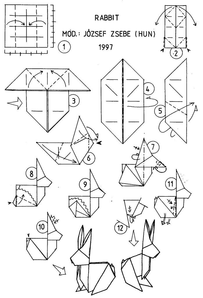 Origami Brasil Diagrammes Origami Deco Origami Origami Papillon
